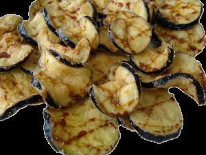berengenas fritas con miel de caña