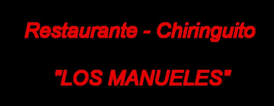Chiringuito Los Manueles Playamar